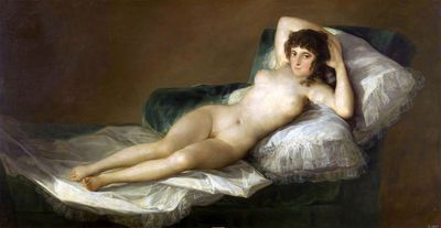 Francisco-Goya-La-maja-desnuda-The-Nude-Maja-1797